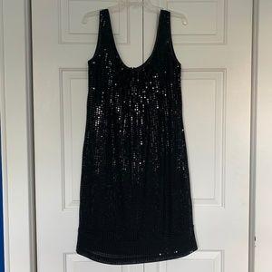 NY&Co Black Sequined Dress